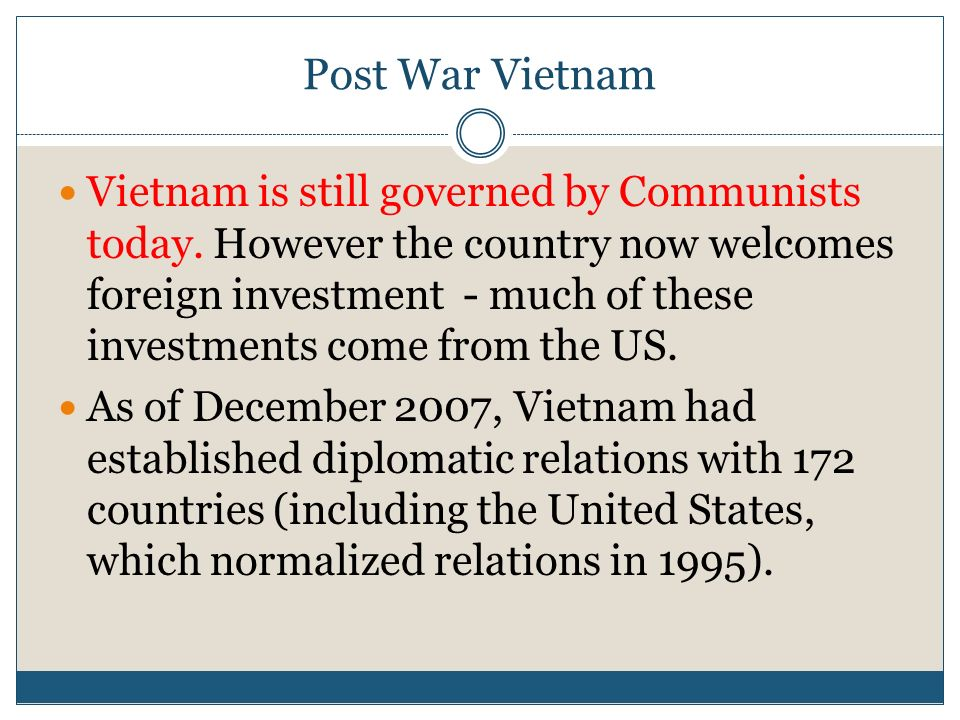 diplomatic lessons learned from the vietnam war Get an answer for 'from diplomatic effort in general and the 1954 geneva negotiations in particular, what lessons can we learn about necessary conditions and understandings that are.