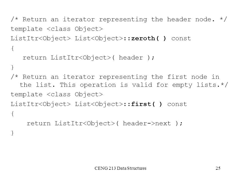 /* Return an iterator representing the header node. */