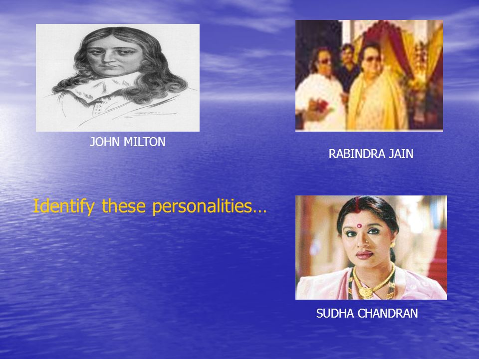 Identify these personalities…