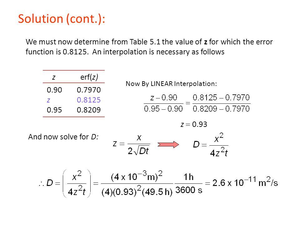 Solution (cont.):