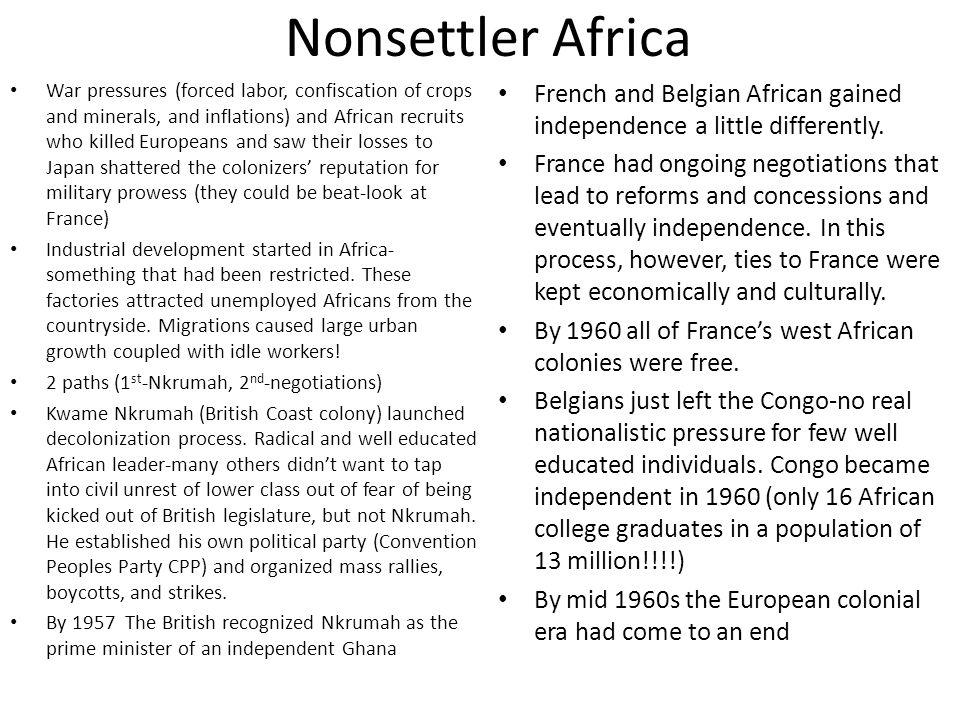 Nonsettler Africa