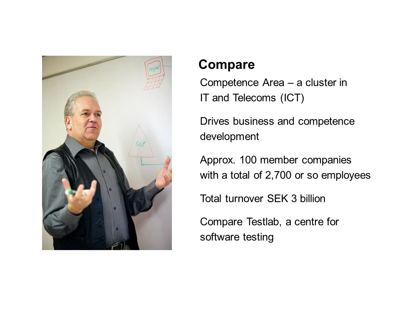 Compare Competence Area – a cluster in IT and Telecoms (ICT)