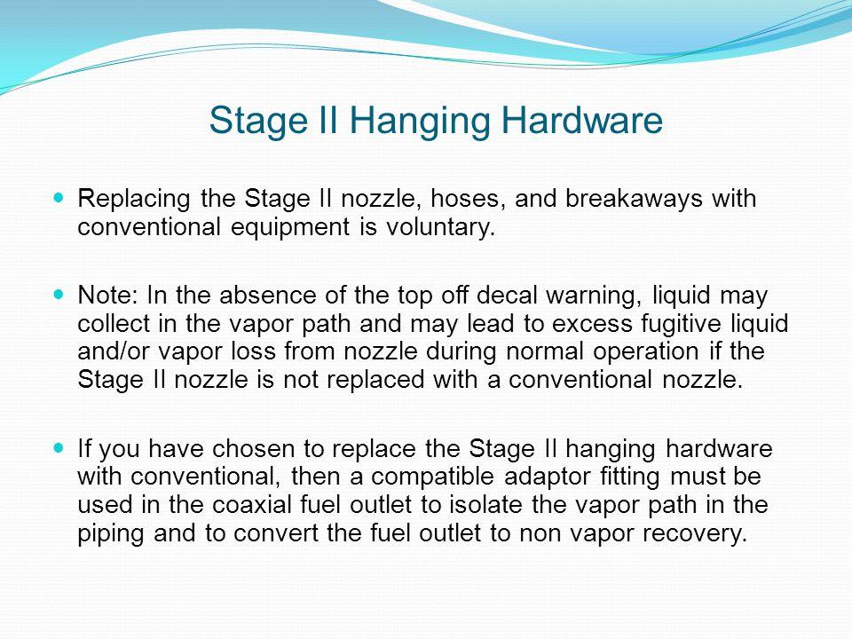 Stage II Hanging Hardware