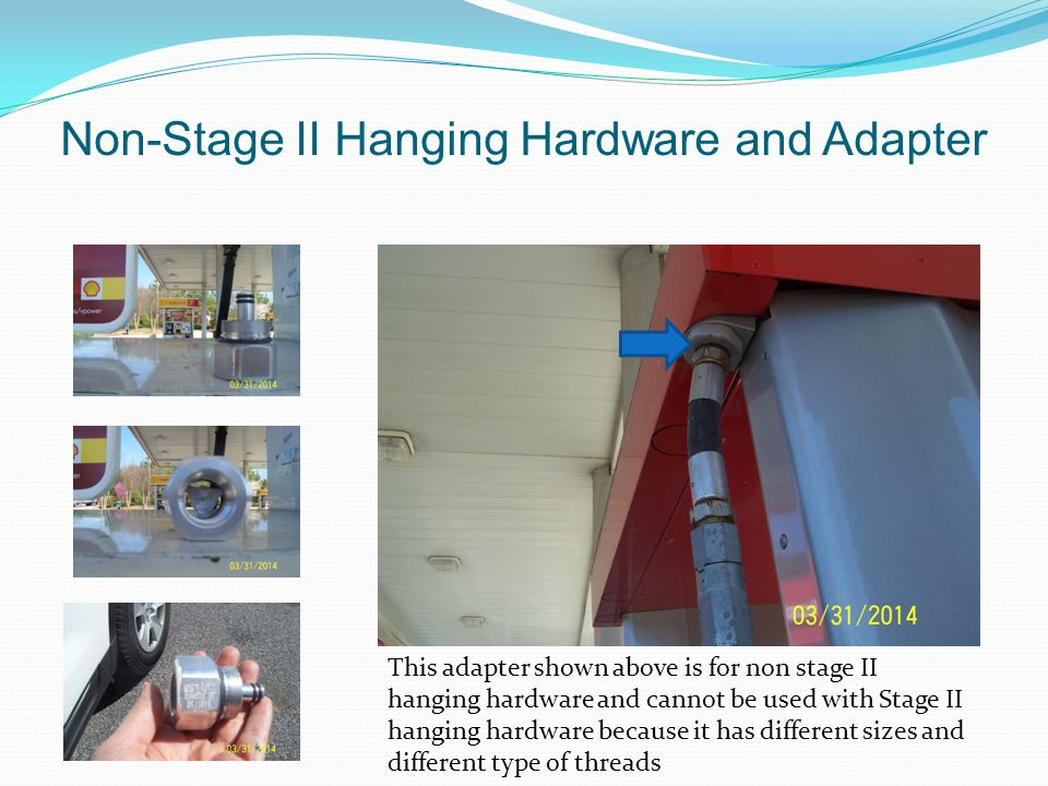 Non-Stage II Hanging Hardware and Adapter