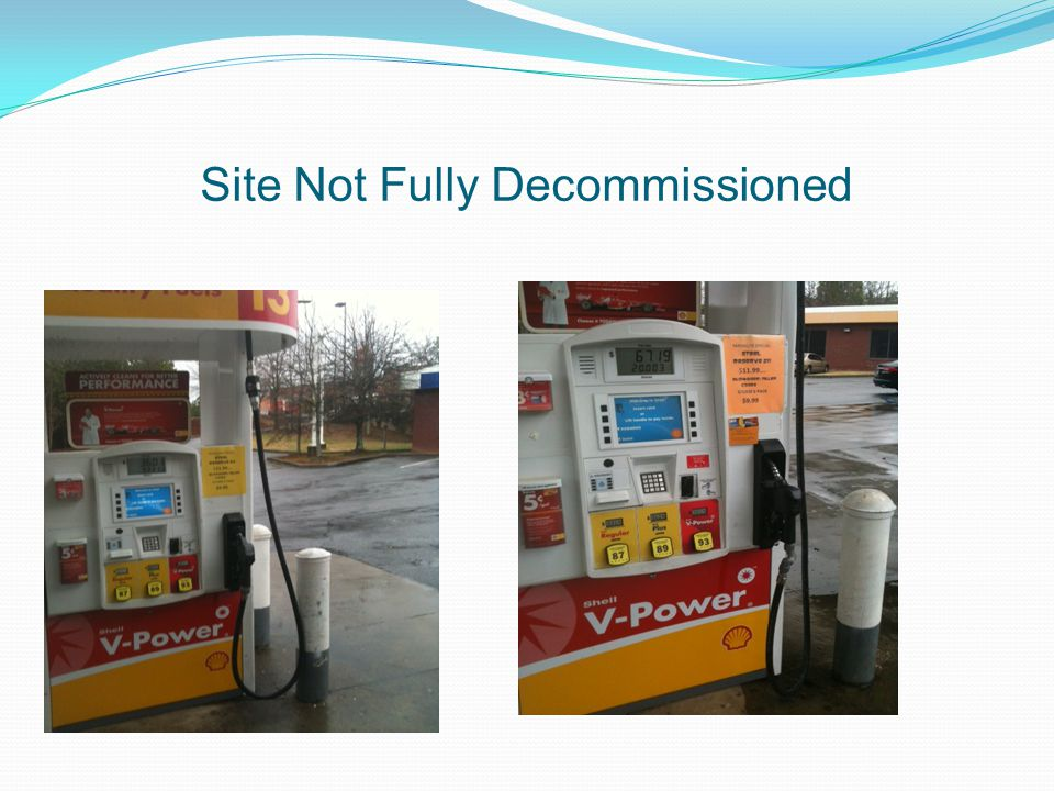 Site Not Fully Decommissioned
