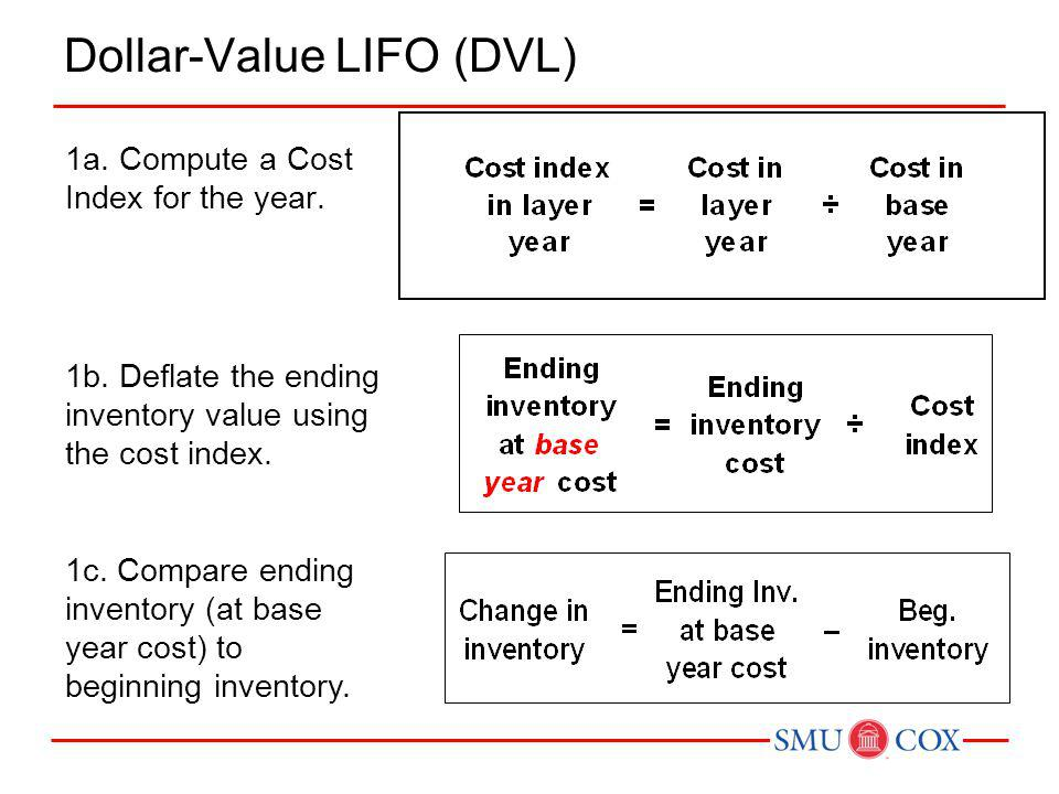 Dollar-Value LIFO (DVL)