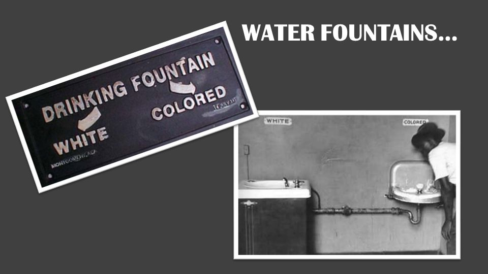 Water Fountains…