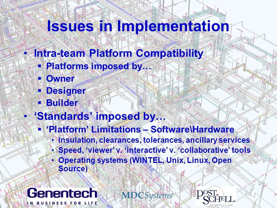 Issues in Implementation