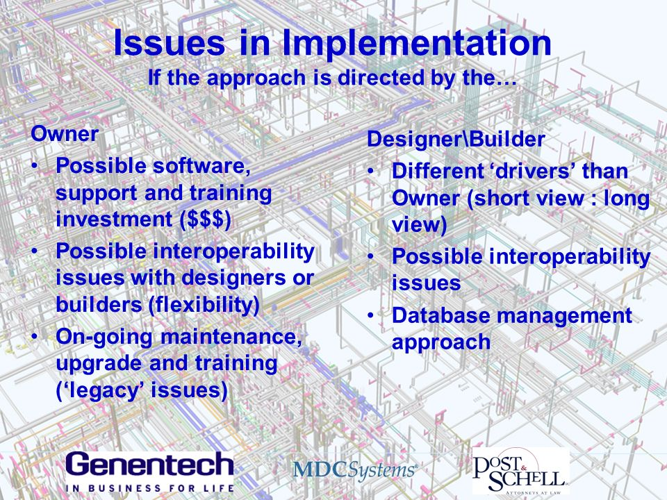 Issues in Implementation If the approach is directed by the…