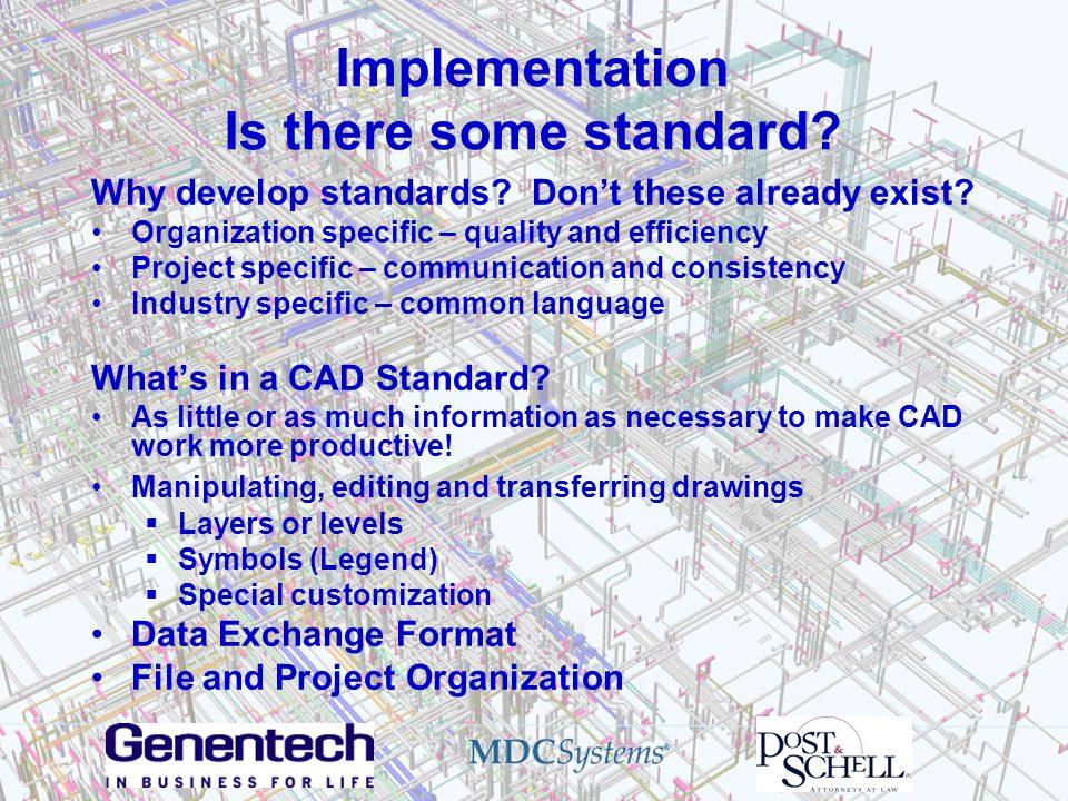 Implementation Is there some standard