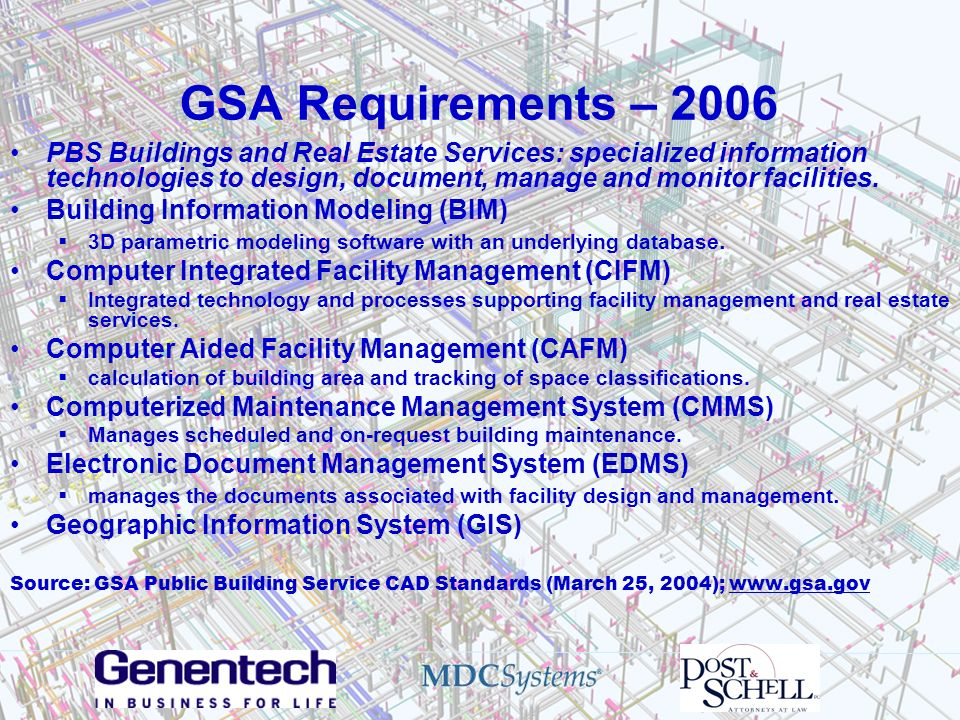 GSA Requirements – 2006