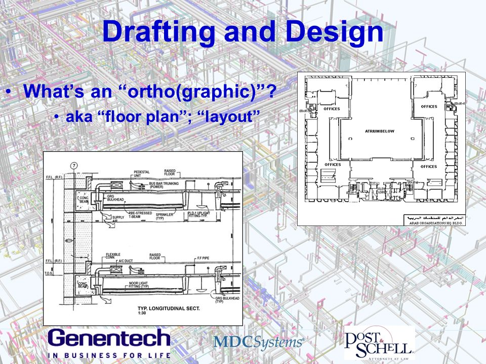 Drafting and Design What's an ortho(graphic)