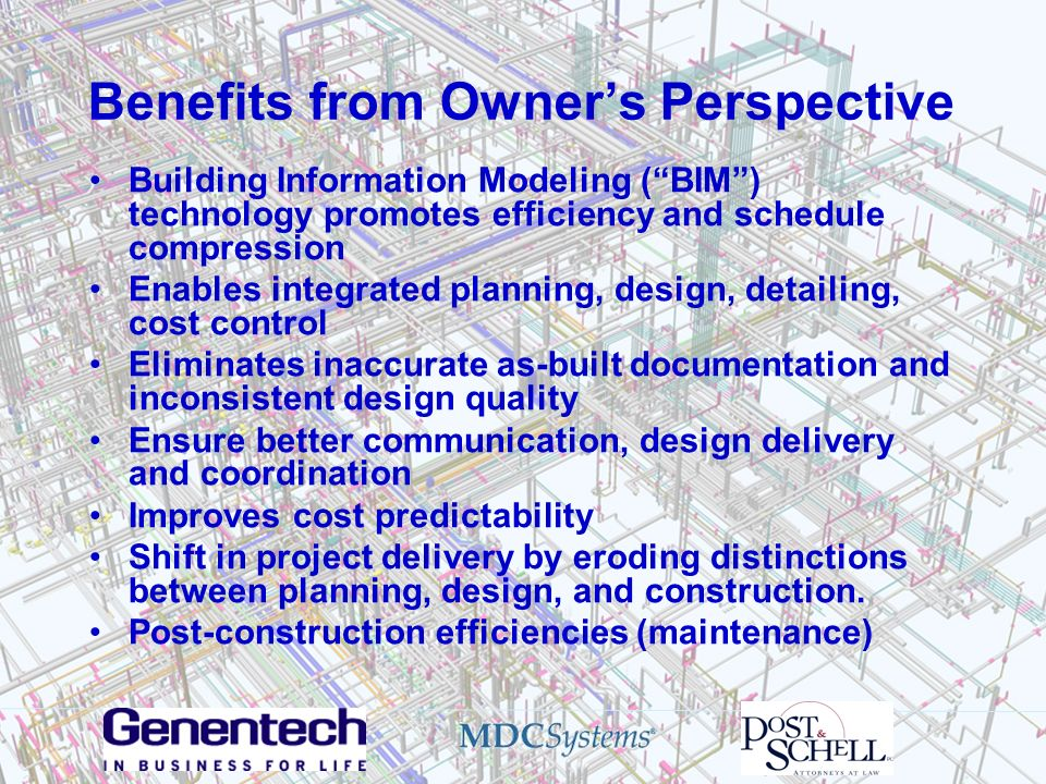 Benefits from Owner's Perspective