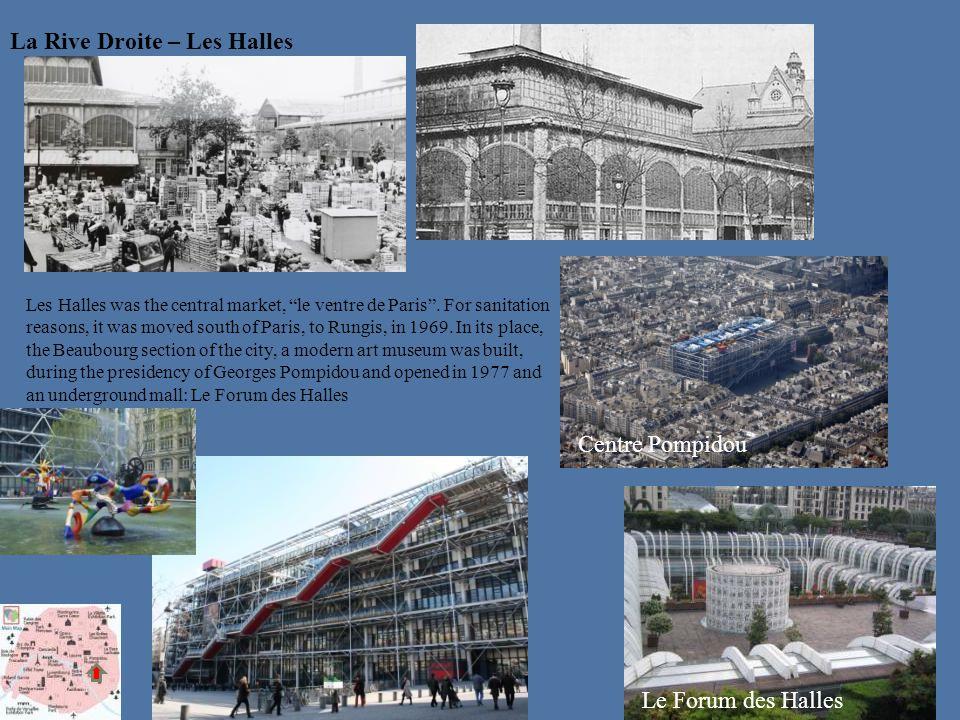La Rive Droite – Les Halles