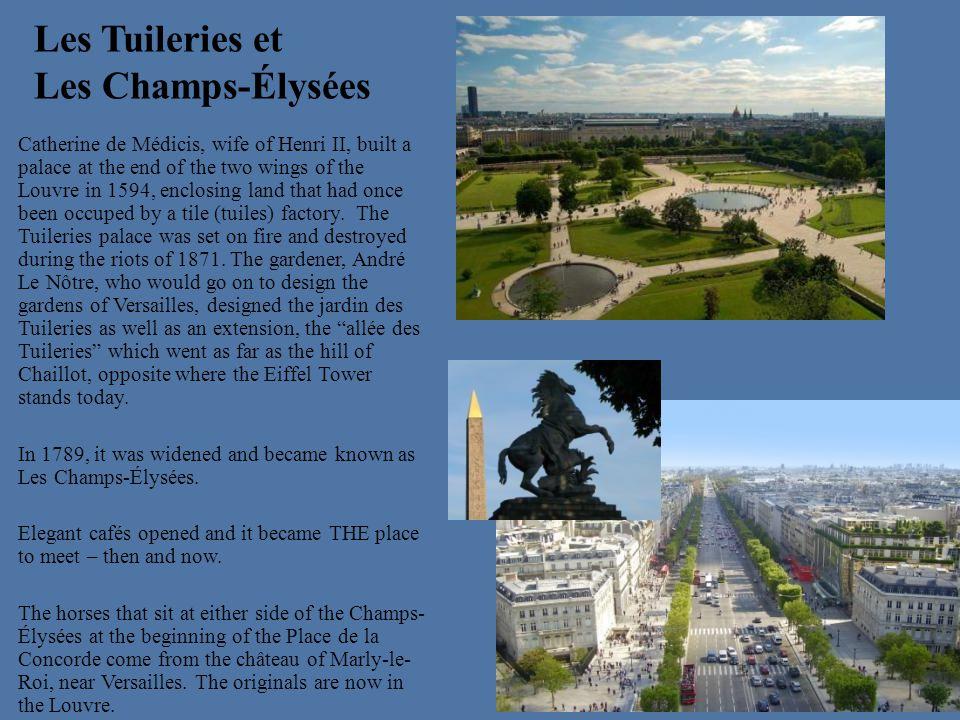 Les Tuileries et Les Champs-Élysées