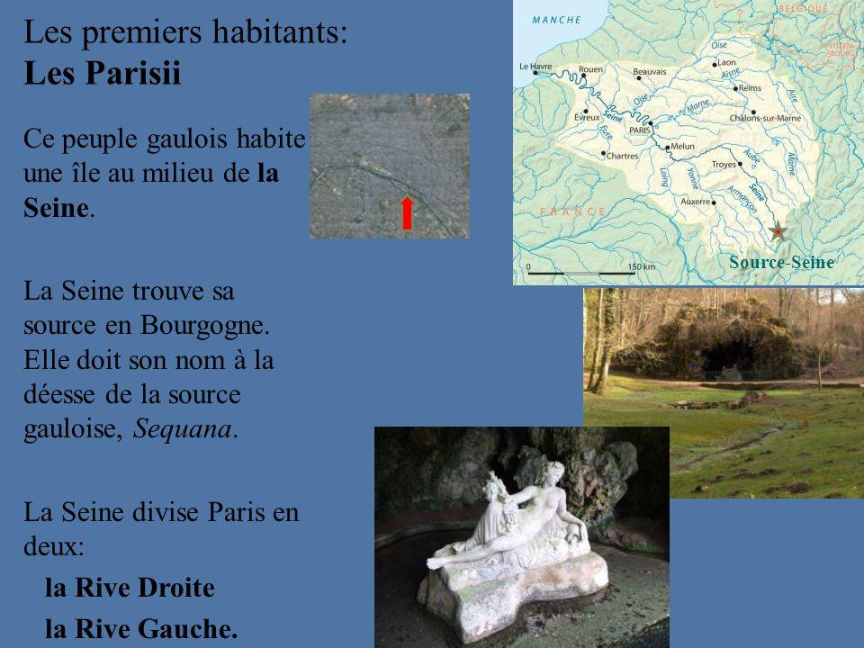 Les premiers habitants: Les Parisii