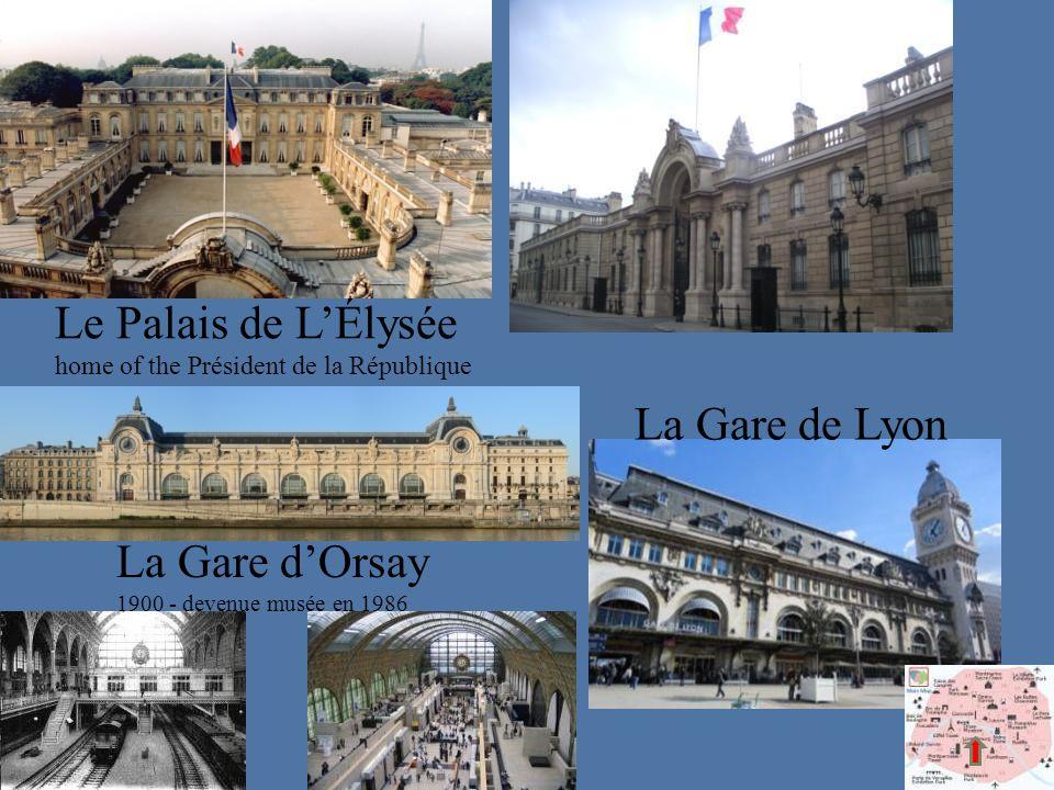 Le Palais de L'Élysée home of the Président de la République