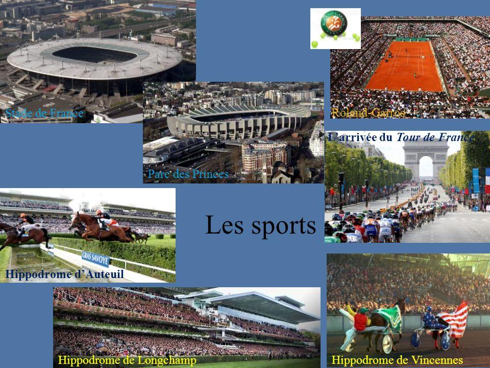 Les sports Stade de France Roland-Garros L'arrivée du Tour de France