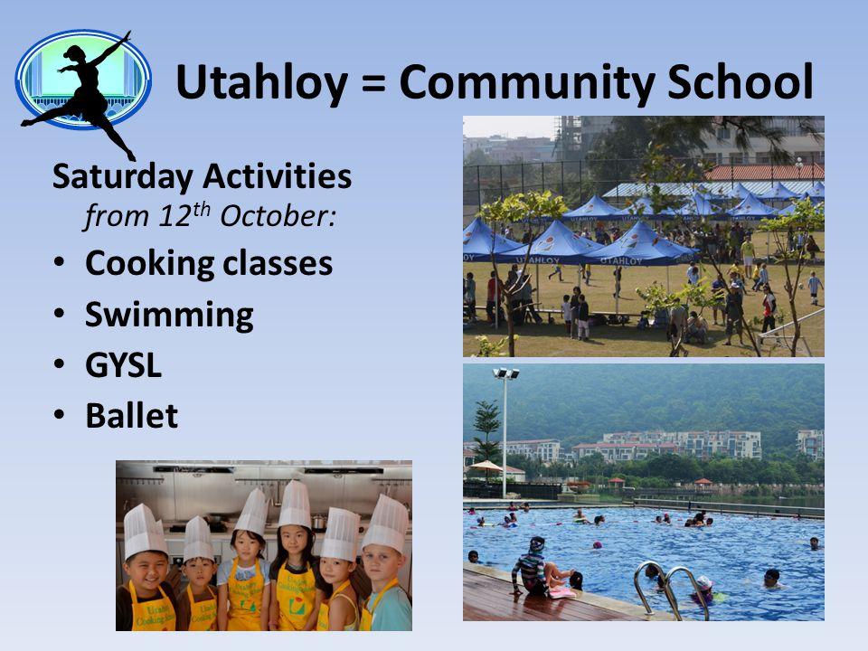 Utahloy = Community School