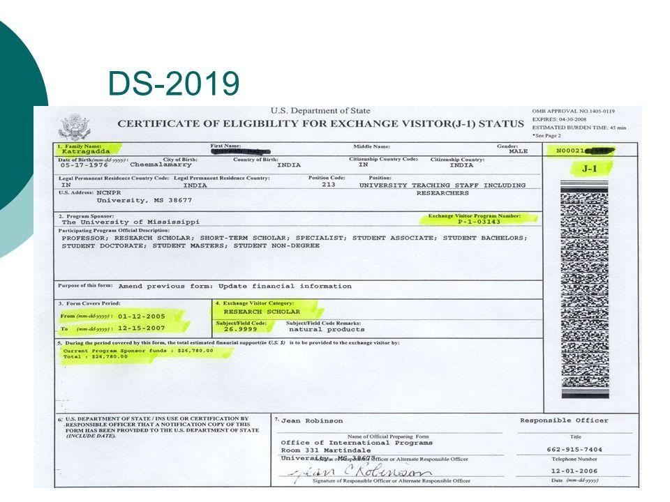 DS-2019