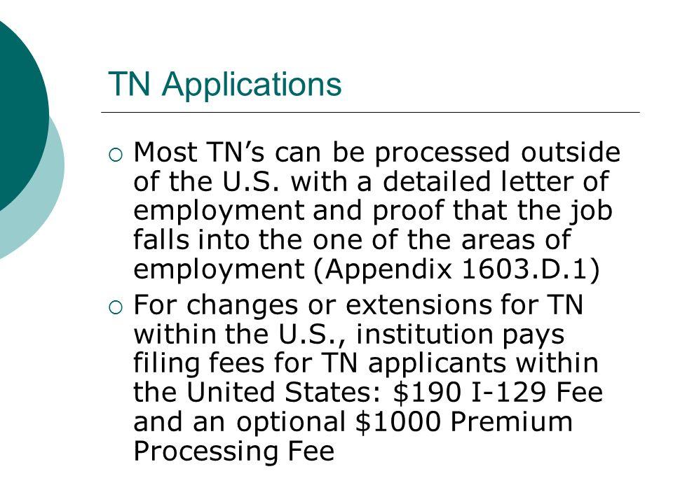 TN Applications