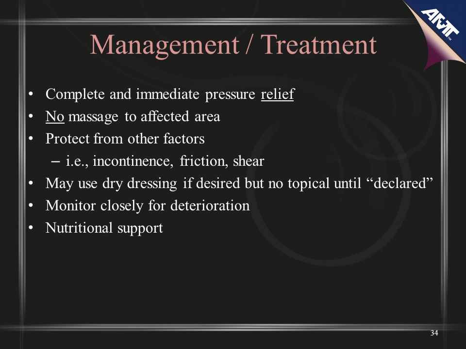 Management / Treatment