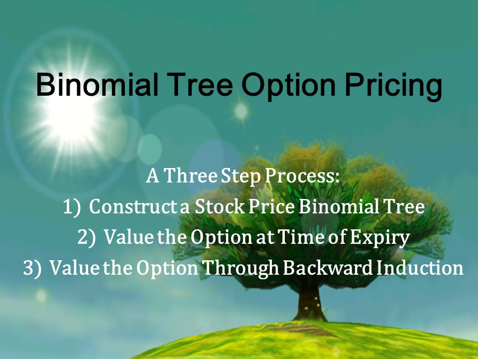 Binomial Tree Option Pricing