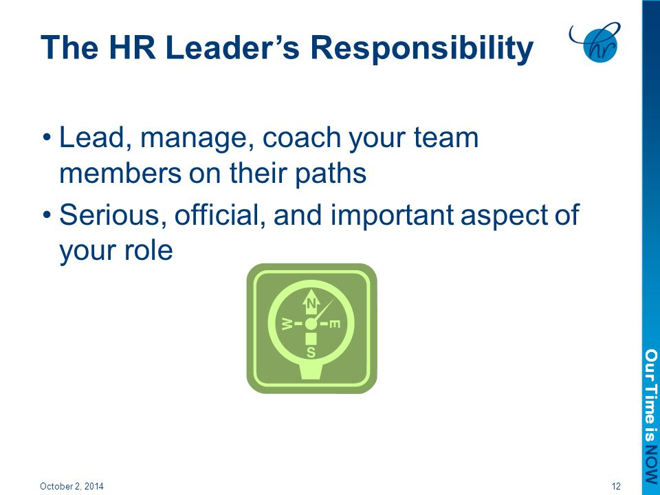 The HR Leader's Responsibility