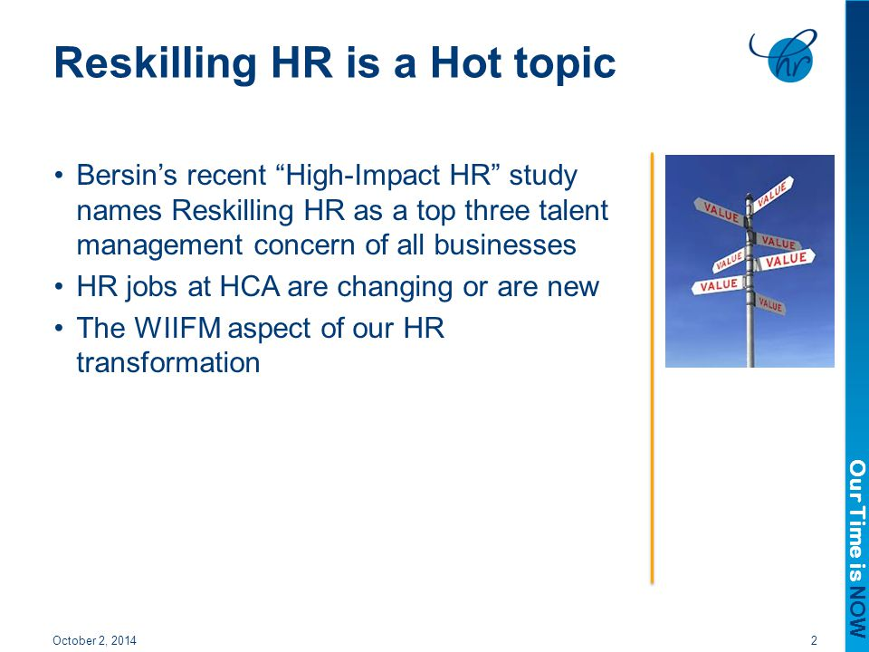Reskilling HR is a Hot topic