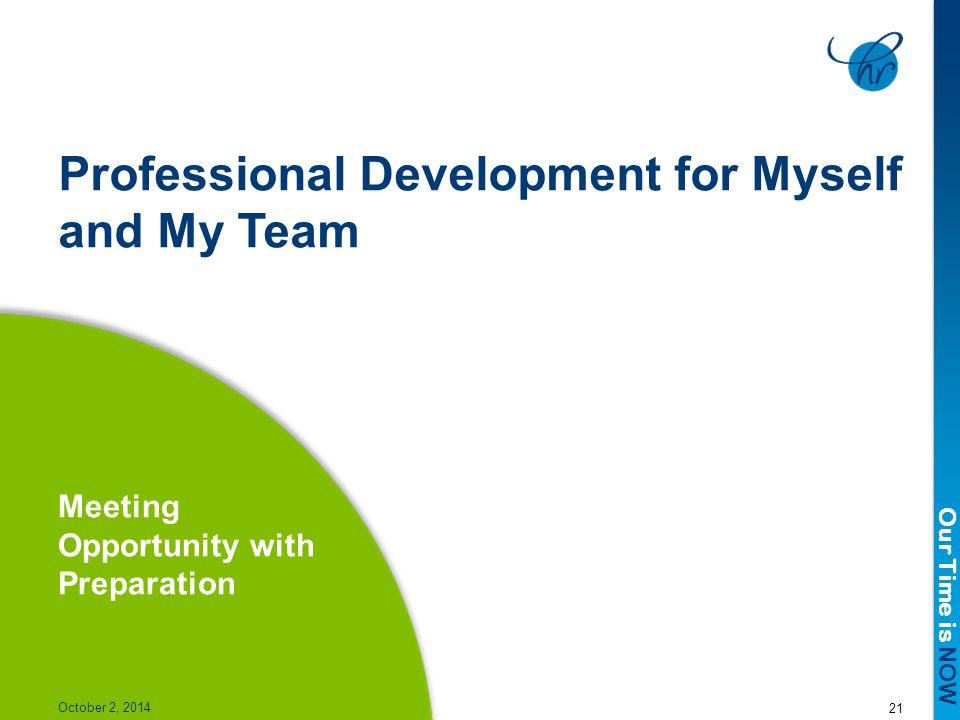 Professional Development for Myself and My Team
