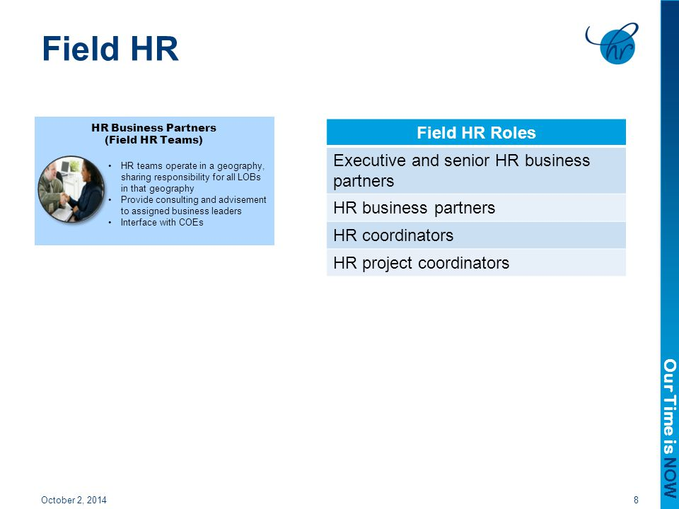 Field HR Field HR Roles Executive and senior HR business partners