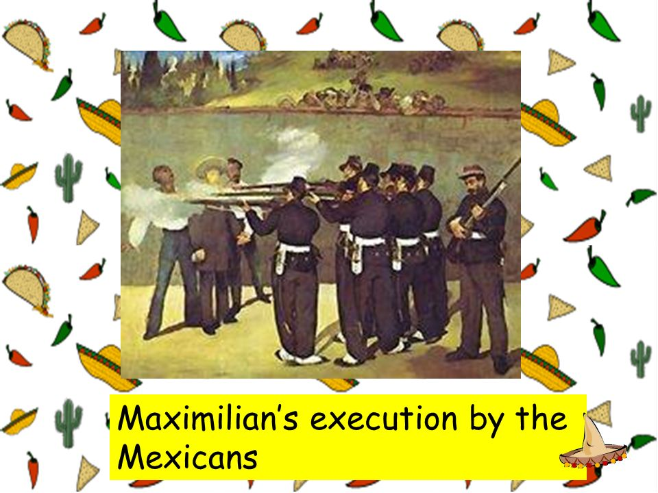 Maximilian's execution by the Mexicans
