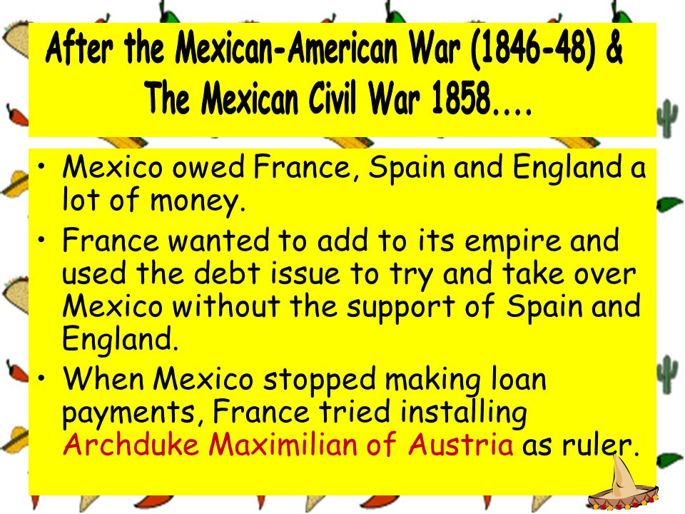After the Mexican-American War (1846-48) &