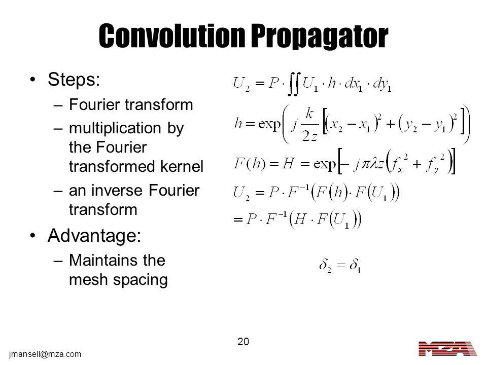 Convolution Propagator