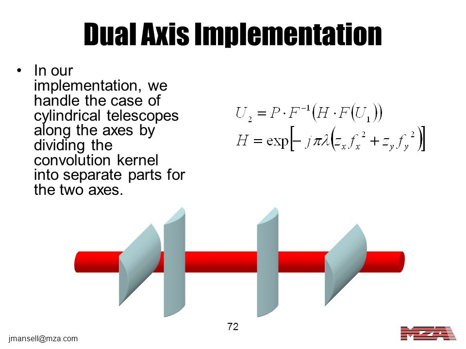 Dual Axis Implementation