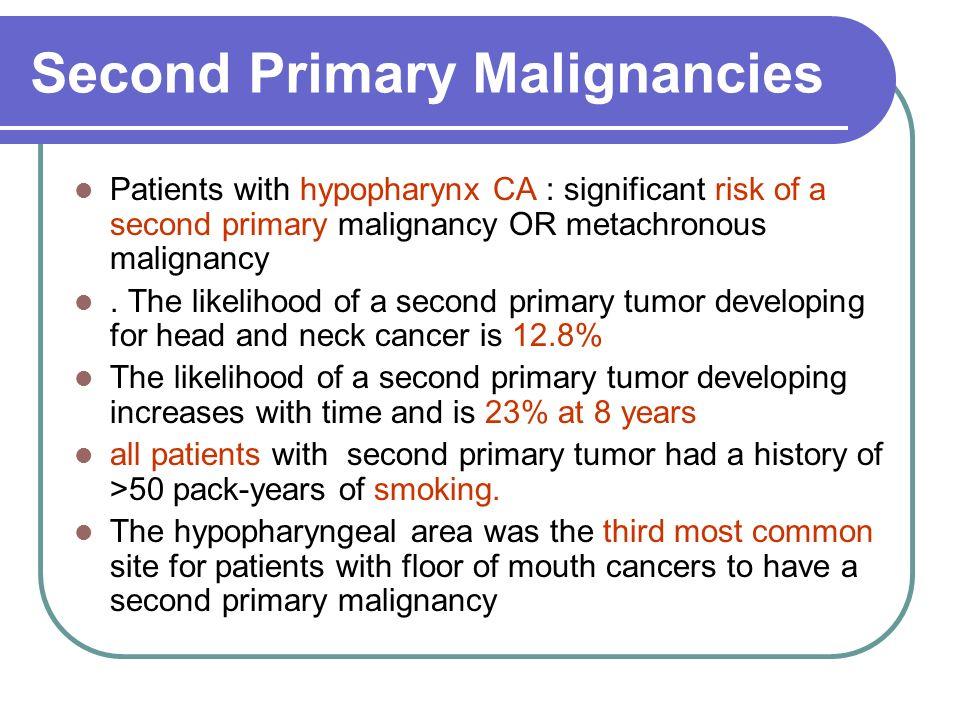 Second Primary Malignancies