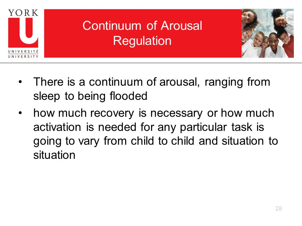Continuum of Arousal Regulation
