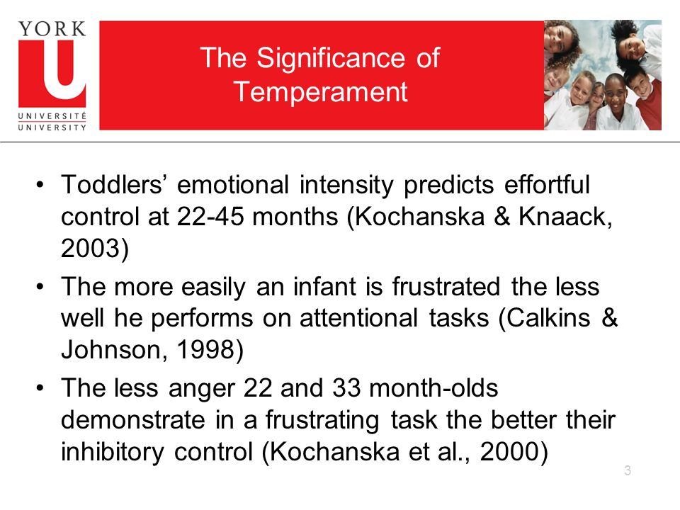 The Significance of Temperament
