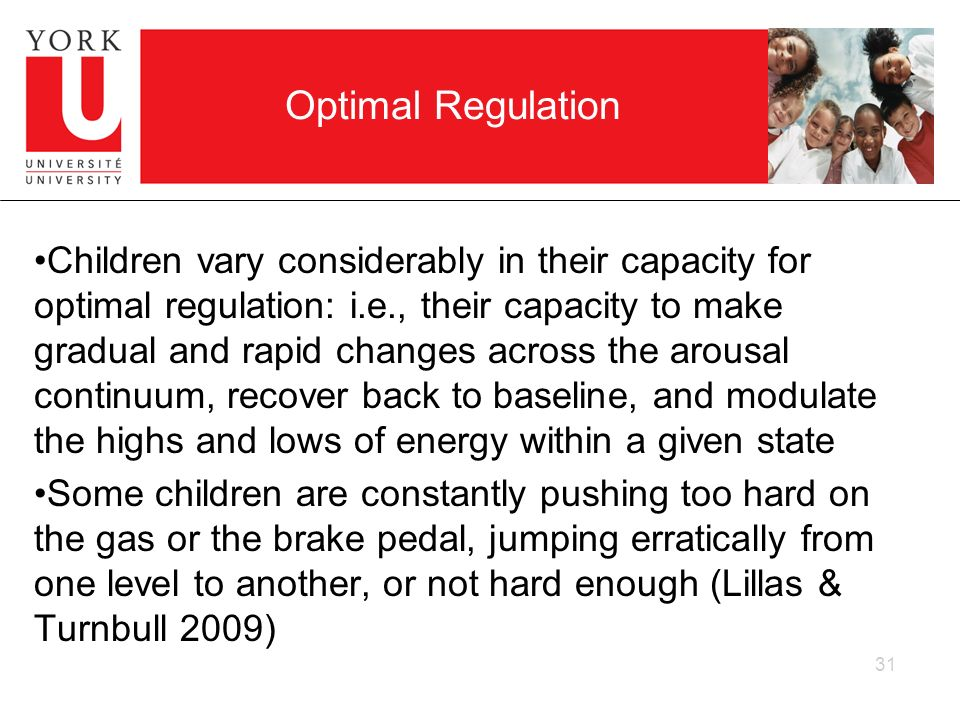 Optimal Regulation