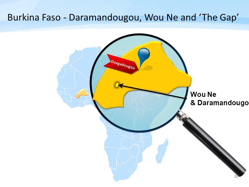 Burkina Faso - Daramandougou, Wou Ne and 'The Gap'