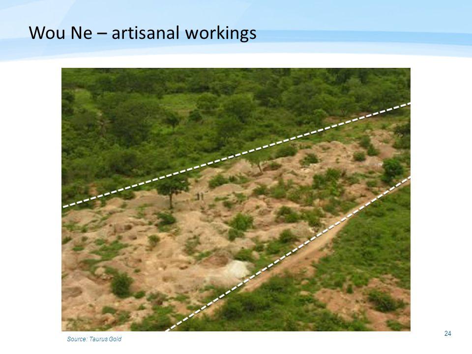 Wou Ne – artisanal workings