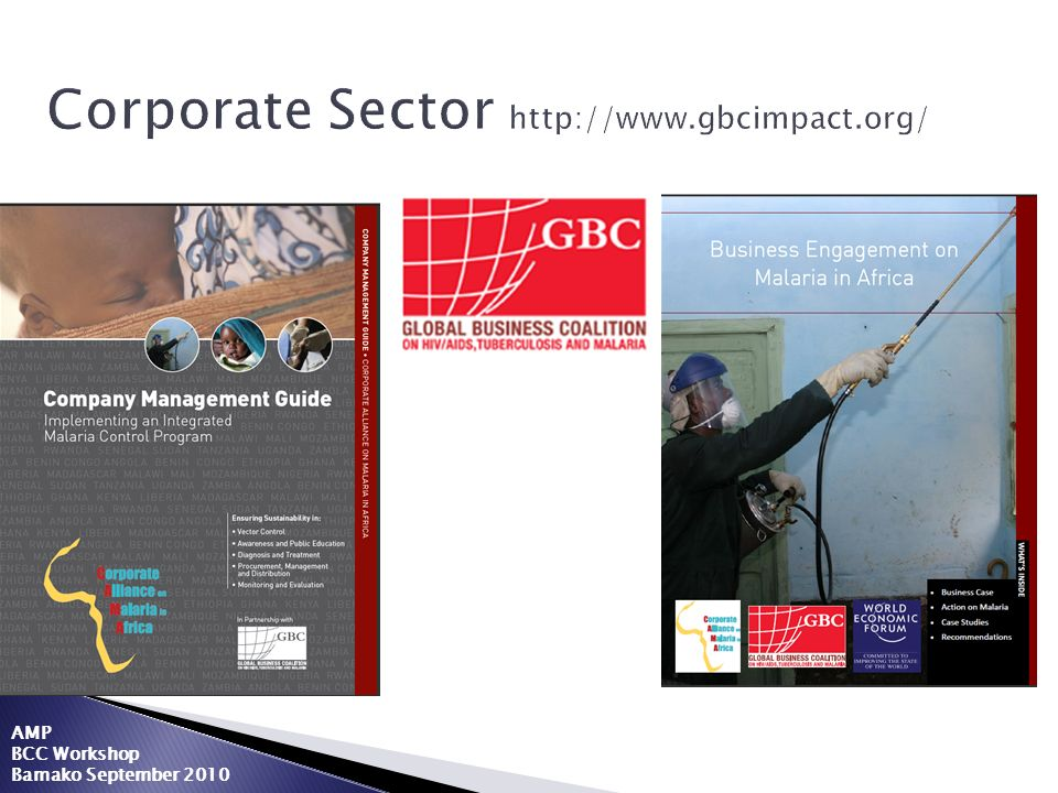 Corporate Sector http://www.gbcimpact.org/