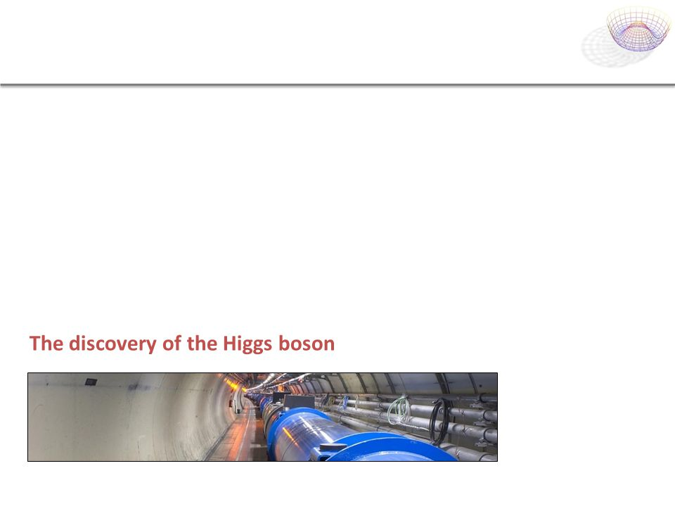 The discovery of the Higgs boson