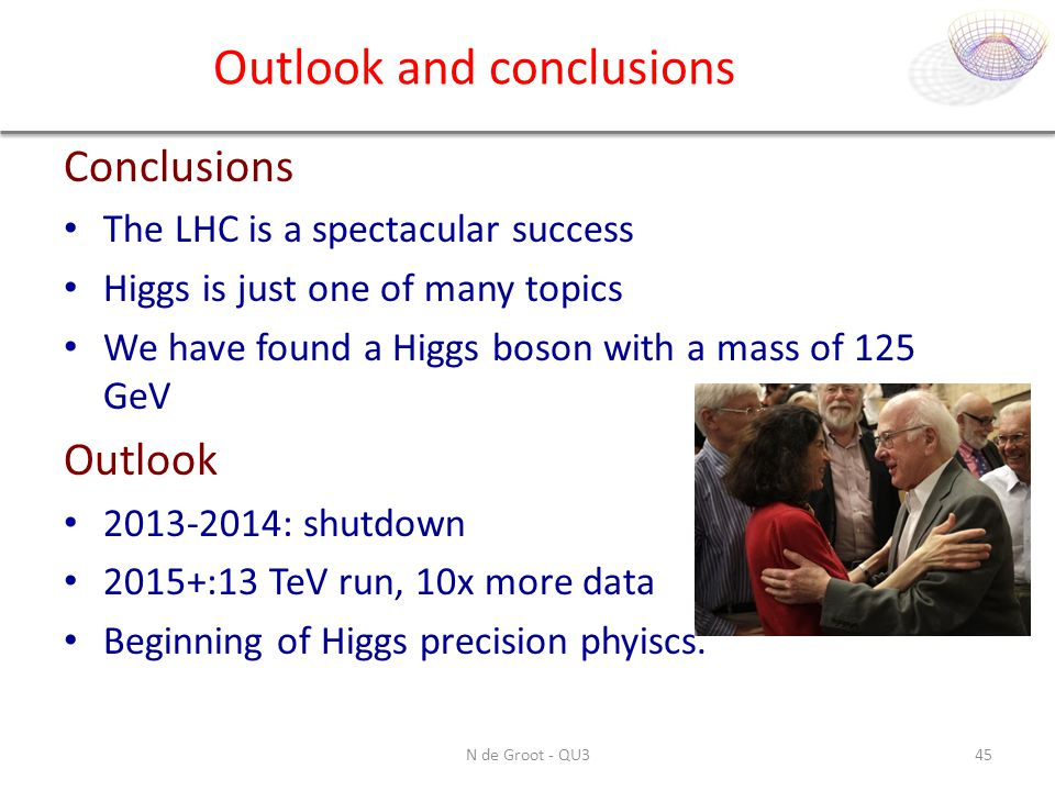 Outlook and conclusions