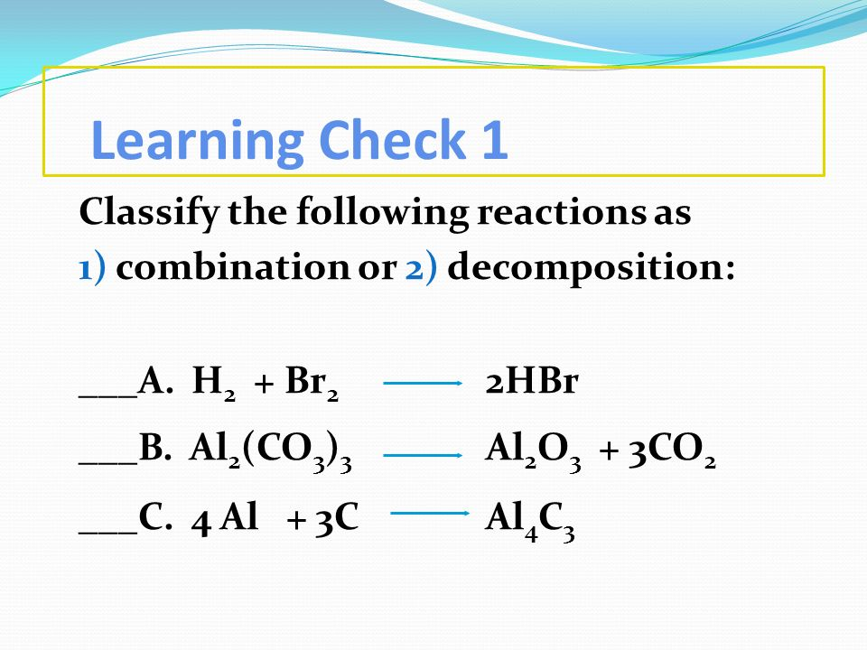 Learning Check 1