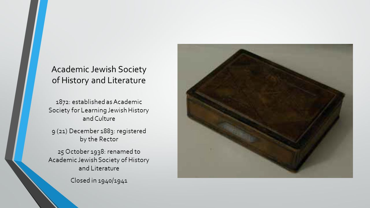Academic Jewish Society of History and Literature