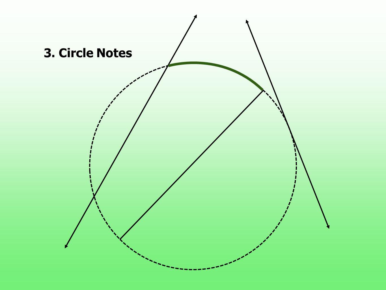 3. Circle Notes