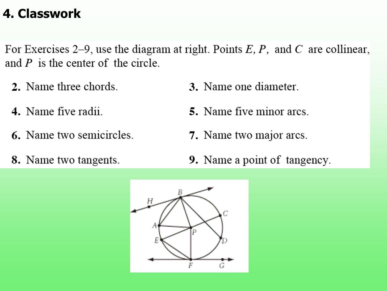 4. Classwork