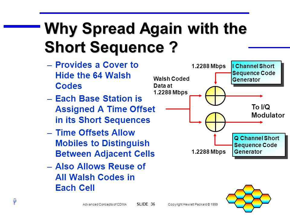 Why Spread Again with the Short Sequence