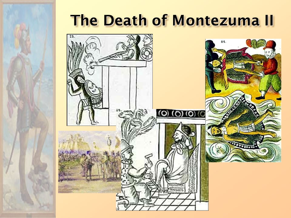 The Death of Montezuma II